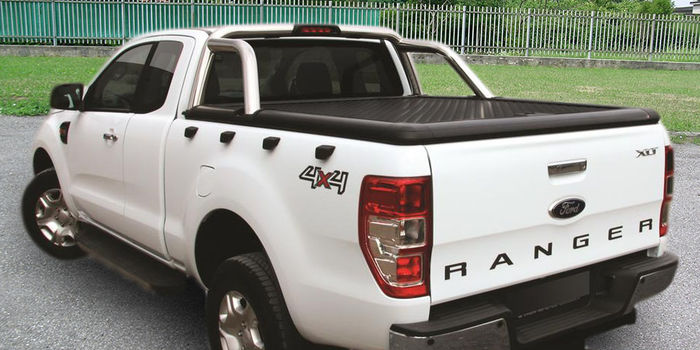 Offroad accessories ALU SPORT LID EVO DOUBLE CAB BLACK MOUNTABLE WITH ORIGINAL ROLL BAR (ROLL BAR EXCLUDED)