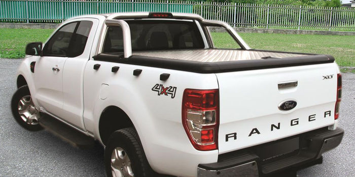 Offroad accessories ALU SPORT LID EVO SUPERCAB TO FIT WITH OE ROLL BAR (roll bar excluded)