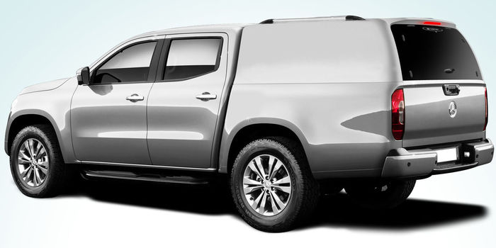 Offroad accessories HARD TOP CARRYBOY LUX WITHOUT WINDOWS DOUBLE CAB with primer, to be paint
