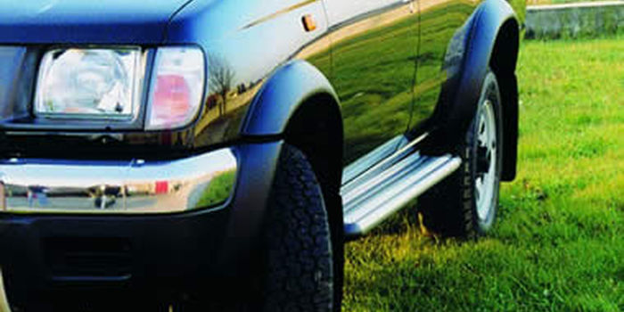 Offroad accessories FENDER FLARES 2 DOORS ABS WITH MUDFLAPS(10 Ps)