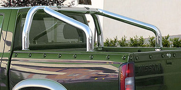 Offroad accessories ROLL BAR D. 70 STAINLESS STEEL BRILL 98/02