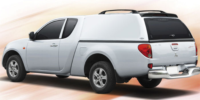 Offroad accessories HARD TOP CARRYBOY LUX 2 DOORS/CLUB CAB WITHOUT WINDOWS with primer, to be paint