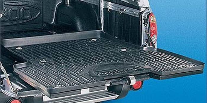 Offroad accessories SLIDING TRAY STEEL+PLASTIC MOD.2