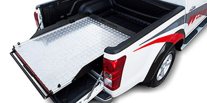 Offroad accessories ALUMINIUM SLIDING TRAY CARRYBOY  UNIVERSAL FOR ALL PICK UPS DOUBLE CAB
