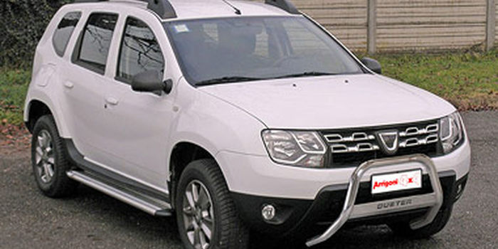 Bull bar DACIA DUSTER 2010 E 2015 aa