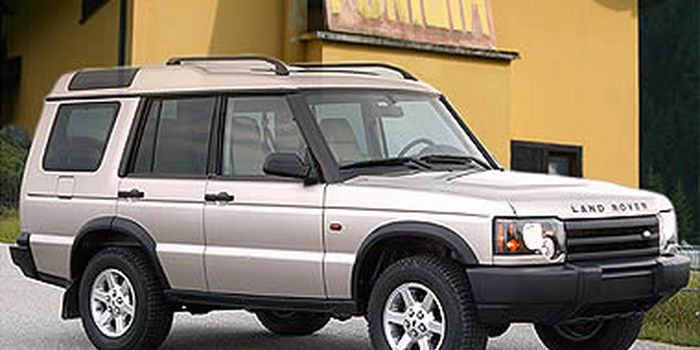 Bull bar LAND ROVER DISCOVERY 2003 aa