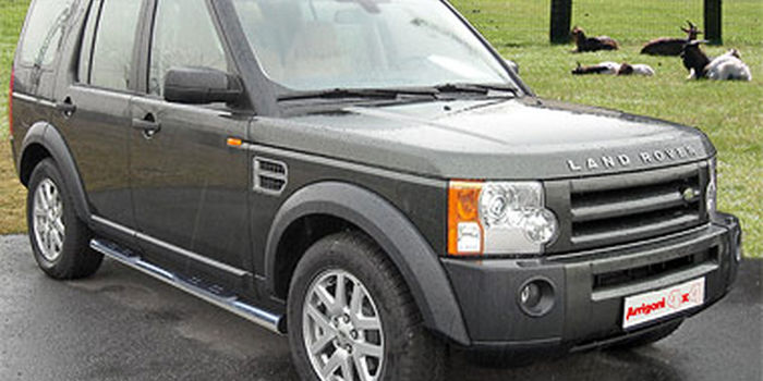 Pedane inox LAND ROVER DISCOVERY 3  2005-2008 aa
