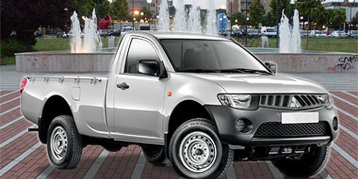 Vasche per pick-up MITSUBISHI L200 2010 SINGLE CAB aa