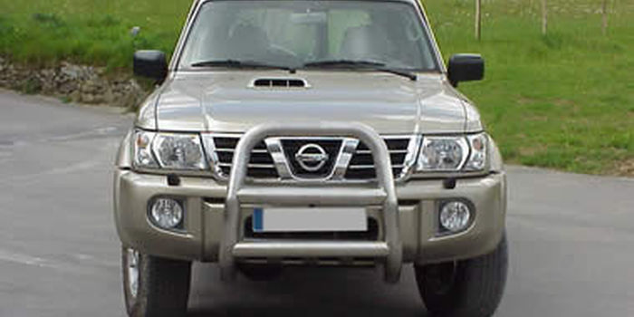 Side and rear tubes  NISSAN PATROL GR 2003 aa