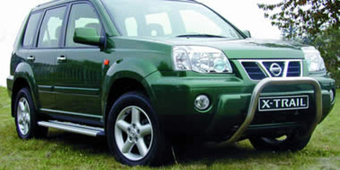 Roof spoilers NISSAN X-TRAIL 2001 (T30) aa