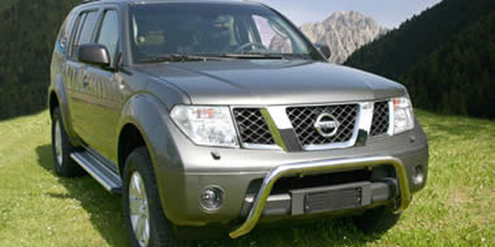 Side and rear tubes  NISSAN PATHFINDER aa