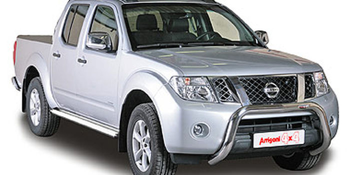 Side and rear tubes  NISSAN NAVARA 2010 - aa