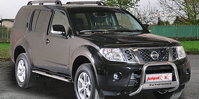 Side and rear tubes  NISSAN PATHFINDER 2011 aa