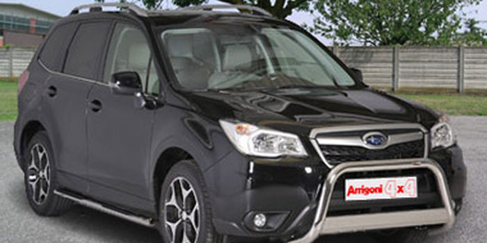 Bull bar SUBARU FORESTER 2013- aa