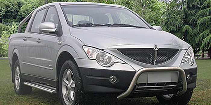 Hard top SSANGYONG ACTYON SPORT 2007 aa