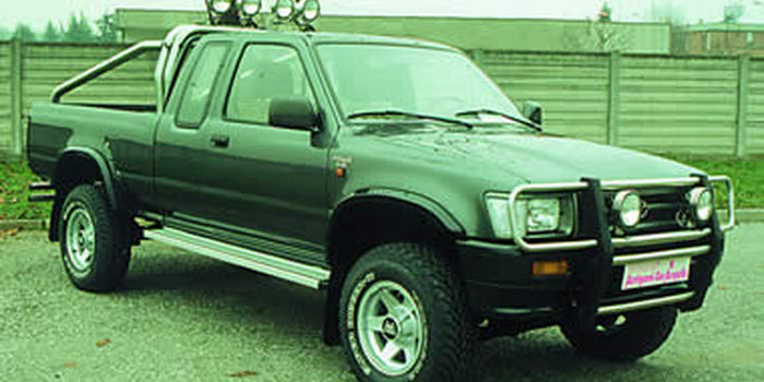 TOYOTA HILUX 1988 CON BALESTRE ANT. E 1989/1997 aa