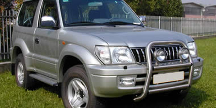 Bull bar TOYOTA LAND CRUISER KZJ90 / KZJ95 aa
