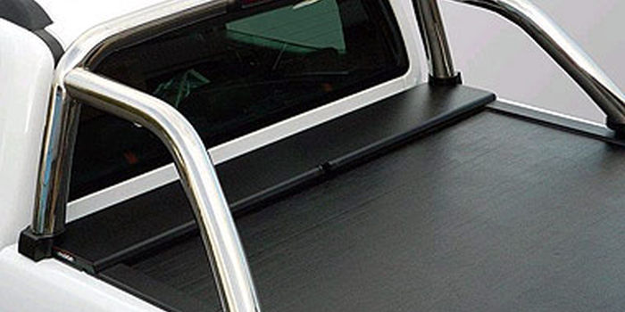 accessori fuoristrada ROLL BAR INOX 70 x ROLL AND LOCK FORD RANGER 07-11DOPPIA CABINA