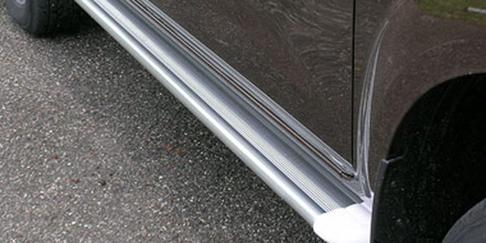 Offroad accessories ALU RUNNING BOARD S50 WHITE