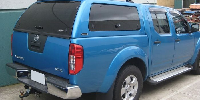 Offroad accessories HARD TOP SO DOUBLE CAB WITH WINDOWS Mod.05/10 (150x150-no Long Bed)  with primer, to be paint