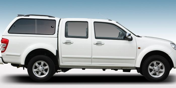 Offroad accessories HARD TOP LUX WITH WINDOWS DOUBLE CAB 07/11 with primer, to be paint