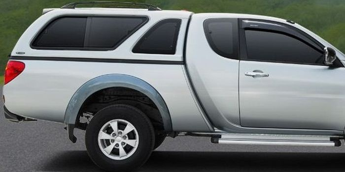 Offroad accessories HARD TOP CARRYBOY LUX WITH WINDOWS CLUBCAB 2 DOORS