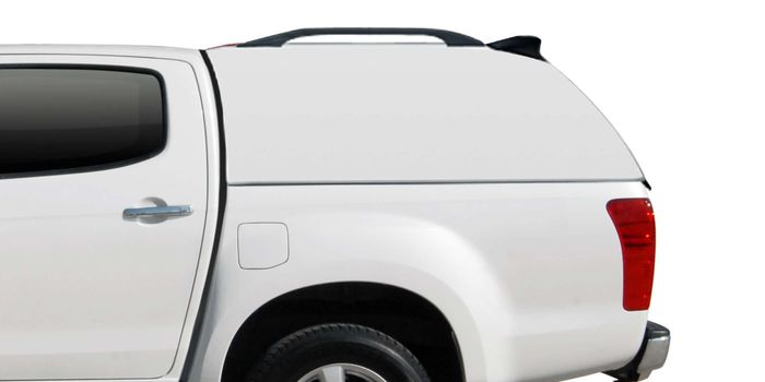Offroad accessories HARD TOP CARRYBOY LUX WITHOUT WINDOWS DOUBLECAB  09/11 with primer, to be paint