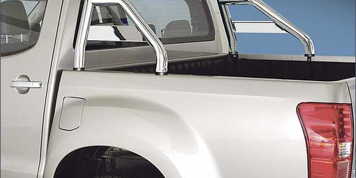 accessori fuoristrada ROLL BAR 60 INOX BRILL CON TRAVERSA D/Ce X/C