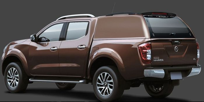 Offroad accessories HARD TOP LUX DOUBLE CAB WITHOUT WINDOWS with primer, to be paint