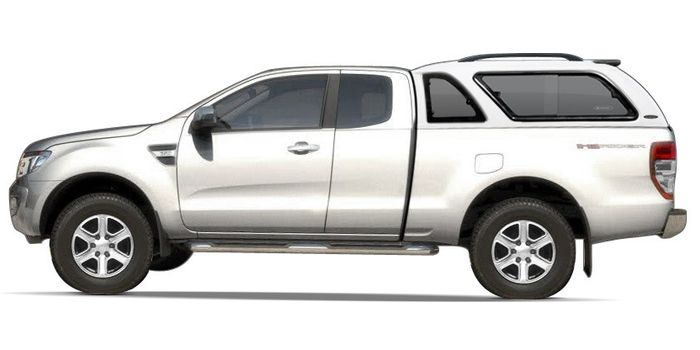 Offroad accessories HARD TOP CARRYBOY LUX WITH WINDOWS SUPERCAB