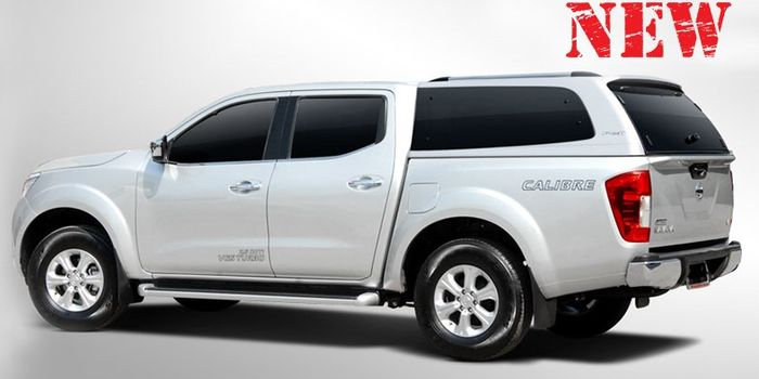 Offroad accessories HARD TOP CARRYBOY S6 DOUBLE CAB WITH WINDOWS whith primer, to be paint