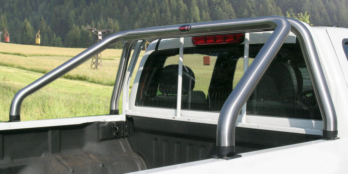 accessori fuoristrada ROLL BAR 60 INOX MAT (L200 97/02 IS 99 FO MZ 07/09 STEED D/C)