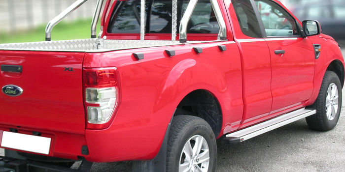 Offroad accessories ROLL BAR STAINLESS STEEL SHINY DIAM 60 4 DOORS and SUPERCAB