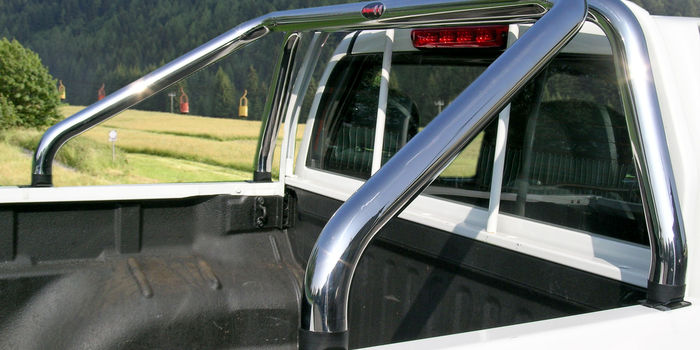 Offroad accessories ROLL BAR STAINLESS STEEL SHINY DIAM 60 2/4 DOORS