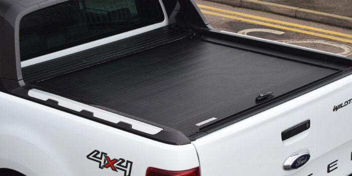 Offroad accessories For WILD-TRACK ALU ROLLER LID 2CAB, 4 DOORS Black