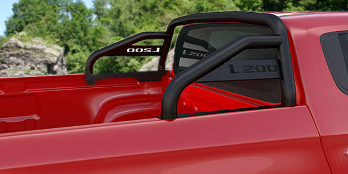 accessori fuoristrada ROLL BAR C/SCRITTA 4 PORTE 2 CAB. BLACK