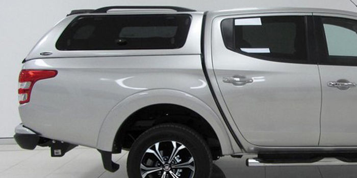 Offroad accessories HARD TOP CARRYBOY SO DOUBLE CAB WITH WINDOWS with primer, to be paint